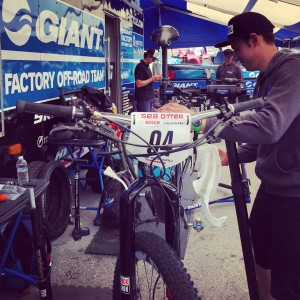 Sebastian Boyington is the most patient mechanic in the paddock.